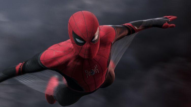 "Spider-Man (interprété par Tom Holland) dans ""Spider-Man : Far From Home"" (2019). (SONY PICTURES)"