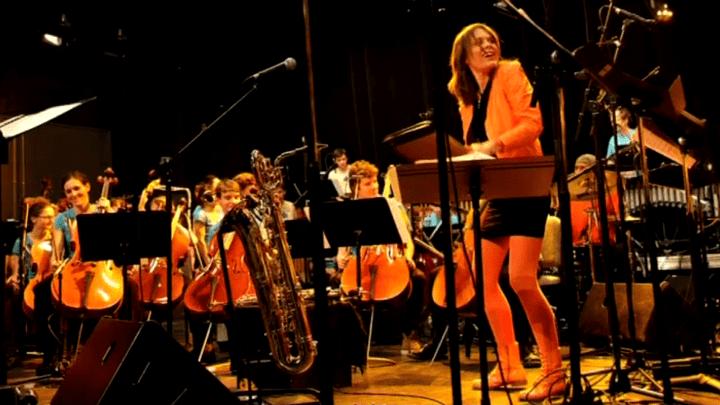Céline Bonacina et le Megapulse Orchestra  (Laurent B)