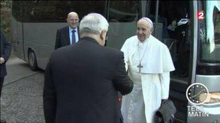 Le pape François s'est exprimé dans la presse allemande. (FRANCE 2)