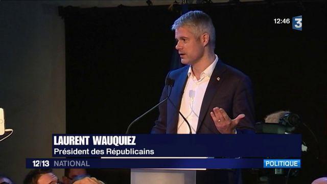Politique : Laurent Wauquiez élu à  la tête des Républicains