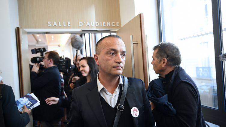 Benoit Hartmann le 14 novembre 2016 à Nantes (Loire Atlantique). (DAMIEN MEYER / AFP)