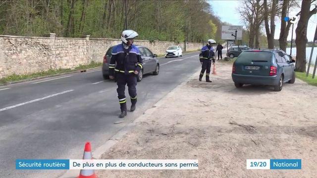 Sécurité routière : 680 000 Français roulent sans permis de conduire