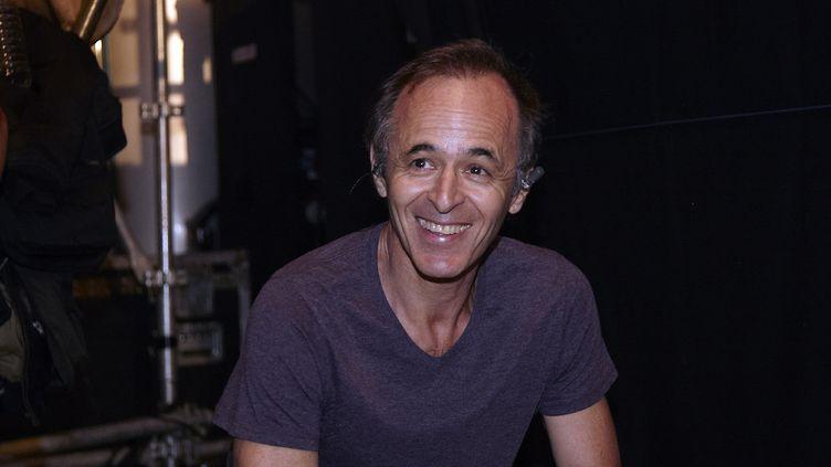 L'auteur-compositeurJean-Jacques Goldman, lors de la 20e édition des Vendanges du Coeur à Ouvellan (Aude), le 20 juillet 2014. (GAILLARD NICOLAS / APERCU / SIPA)