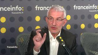 Guillaume Pepy, le 11 mai 2018. (FRANCEINFO / RADIOFRANCE)