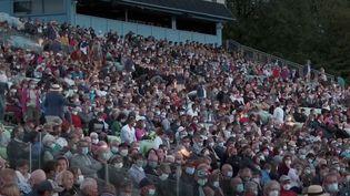 Près de 12 000 personnes ont assité à la célèbre Cinéscénie du Puy du Fou, vendredi 24 juillet. (FRANCE3 / FRANCETV INFO)