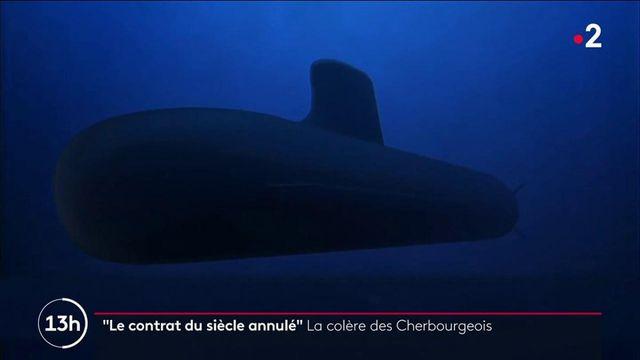 Cherbourg : colère chez Naval group après l'annulation de la vente de 12 sous-marins à l'Australie