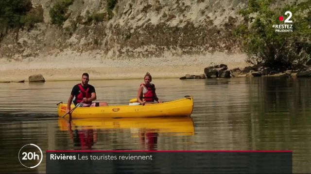 Nature : les touristes reprennent le chemin des rivières