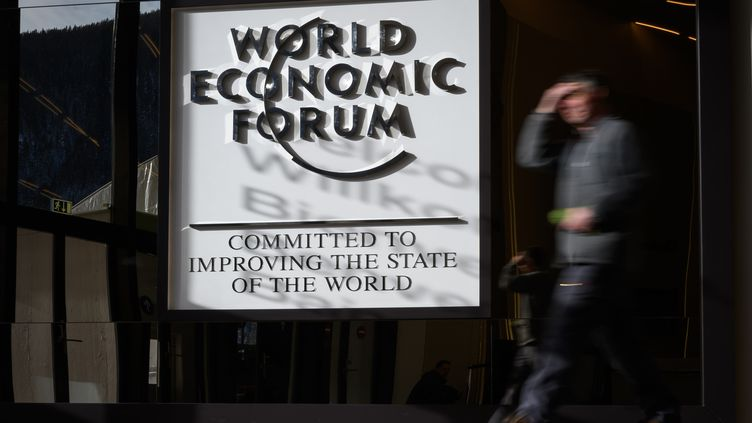 Le Forum économique de Davos se tient en Suisse du 21 au 25 janvier 2019. (FABRICE COFFRINI / AFP)