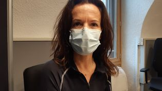 Sylvie, infirmière à Chambéry. (SOLENNE LE HEN / RADIO FRANCE)