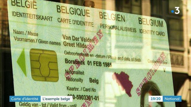 Nouvelle carte d'identité : l'exemple de la Belgique