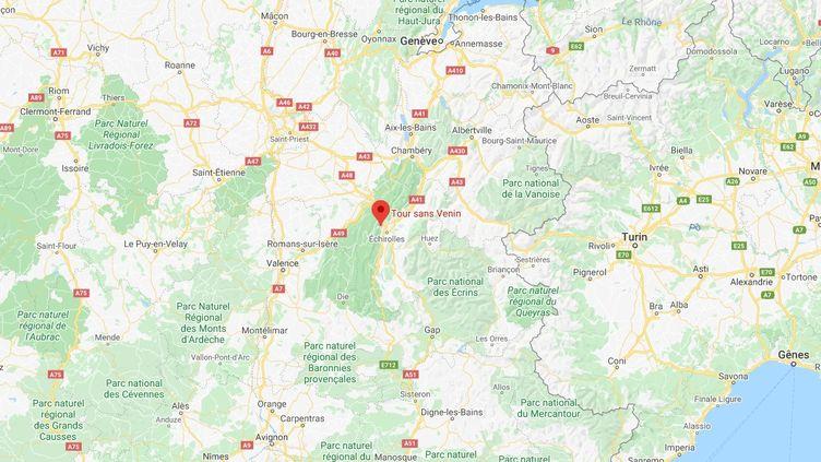 Des perturbations peuvent également avoir lieu sur les réseaux de téléphonie mobile. (GOOGLE MAPS)