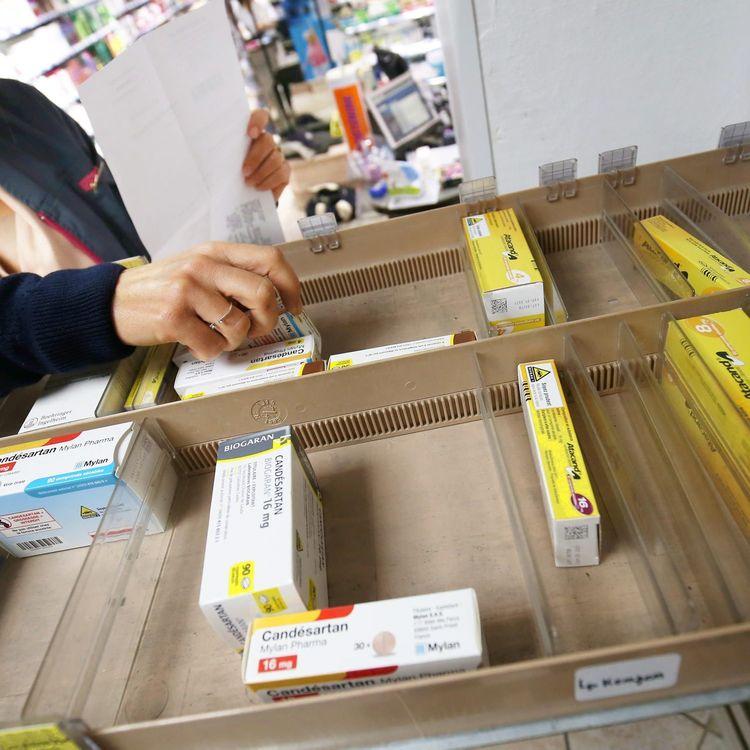 Dans les pharmacies françaises,des centaines de médicaments manquent pendant parfois plusieurs semaines. (MAXPPP)
