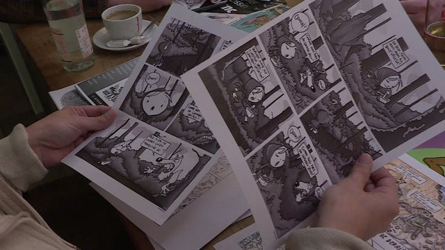"""Point bar"" : un fanzine alsacien à Angoulême"