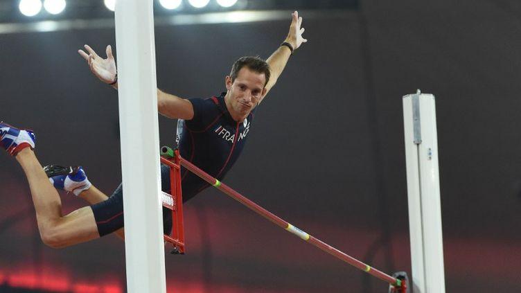 Le recordman du monde en salle, Renaud Lavillenie (STEPHANE KEMPINAIRE / STEPHANE KEMPINAIRE)