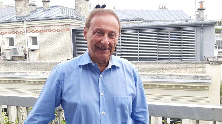 Didier Gailhaguet, l'ancien président de la Fédération des sports de glace. (SEBASTIEN BOZON / AFP)