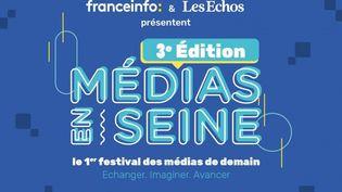 Le festival des médias le 19 novembre 2020 sera 100% digital.Le quatrième pouvoir à l'ère de l'information numérique et à l'heure de la crise sanitaire mondiale seront au centre des rencontres et des débats. (FRANCEINFO / LES ECHOS)