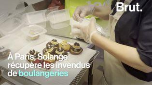VIDEO. Elle récupère les desserts invendus et les distribue aux plus démunis (BRUT)