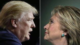 Donald Trump déjouant tous les pronostics a remporté la présidentielle américaine. (JAY LAPRETE / AFP)