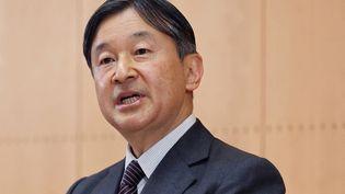 L'empereur du JaponNaruhito lors d'une conférence de presse, le 19 février 2021. (MASAMINE KAWAGUCHI / YOMIURI / AFP)