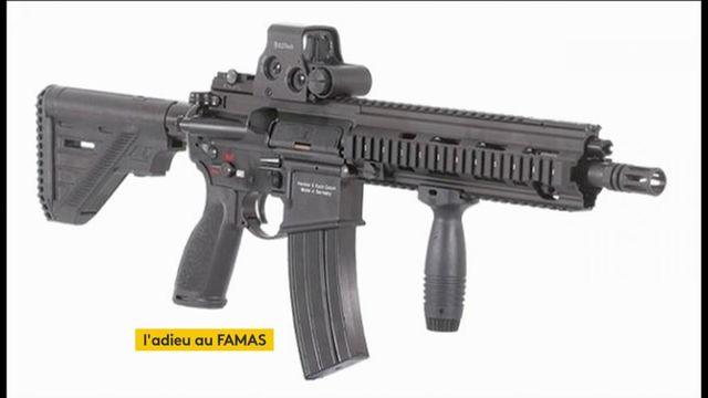 Adieu le Famas, l'armée adopte le fusil d'assaut allemand HK 416