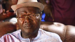 Ancien Premier ministre du Togo, l'opposant Agbéyomé Kodjo est président du Mouvement des patriotes pour le développement et la démocratie. (PIUS UTOMI EKPEI / AFP)