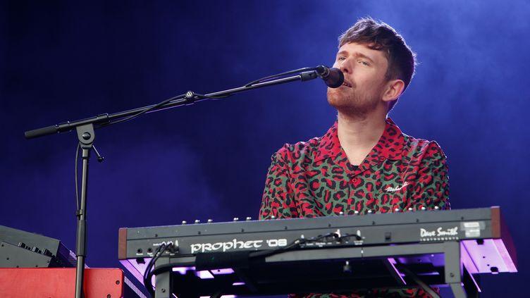 Le chanteur et musicien James Blake joue au All Point East Festival (Londres, G-B), ke 26 mai 2019. (BURAK CINGI / REDFERNS / GETTY IMAGES)