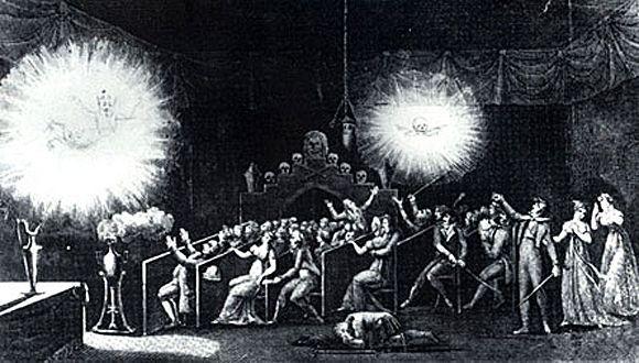 Une séance de fantasmagorie par Robertson  (DR)