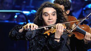 Nemanja Radulovic rend hommage à Paganini (ici en photo lors des Victoires de la Musique en 2012)  (SADAKA EDMOND/SIPA)