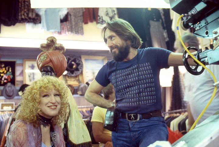 """Bette Midler et Vilmos Zsigmond sur le tournage de """"The Rose"""" (1980)  (Lost Films)"""