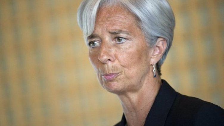 Christine Lagarde, directrice du Fonds monétaire international (AFP)