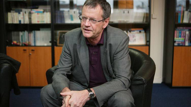 Pascal Boniface, fondateur et directeur de l'Institut des relations internationales et stratégiques (IRIS), en 2009. (MANUEL COHEN / MANUEL COHEN)