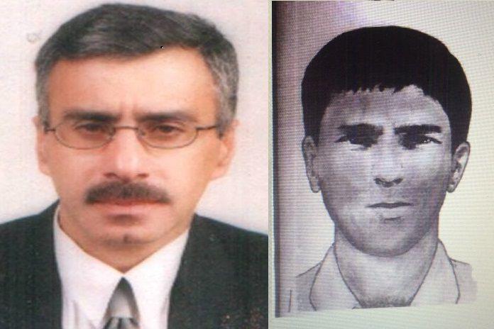 Montage avec, à gauche, la photo de Nizar Tawfiq Mussa Hamada, issue de son profil LinkedIn, et à droite, le portrait-robot de l'un des terroristes réalisé par les enquêteurs français, en 1982. (LINKEDIN / FRANCE SOIR)