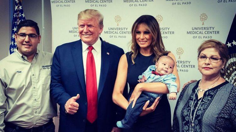 Capture d'écran du compte Twitter de Melania Trump, le 9 août 2019. (MELANIA TRUMP)