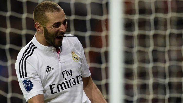 Karim Benzema. (JAVIER SORIANO / AFP)