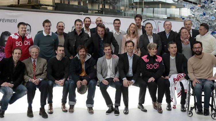 Les journalistes et les consultants de Francetvsport nous feront vivre les Jeux de Sotchi du 7 au 23 février (JACQUES DEMARTHON / AFP)