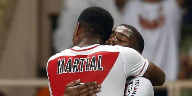 Anthony Martial, l'attaquant de l'AS Monaco.