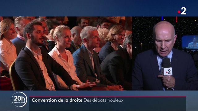 """Politique : débats houleux à la """"convention de la droite"""""""