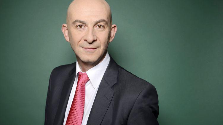 François Lenglet, journaliste politique à France 2,le 27 novembre 2012. (BALTEL / SIPA )