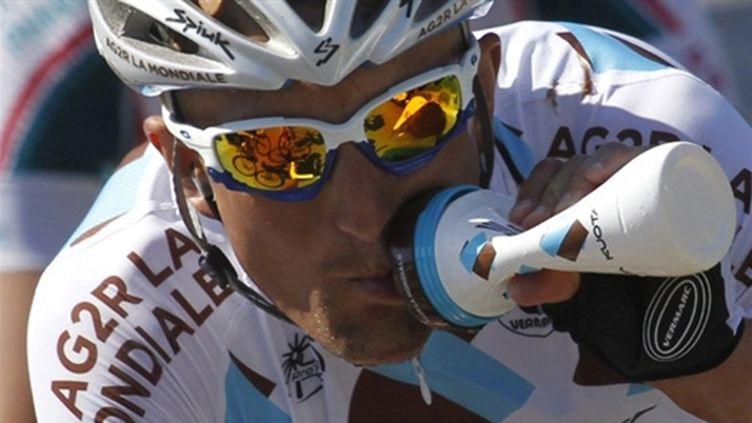 Dimitri Champion (AG2R-La Mondiale) a encore fait parler de lui