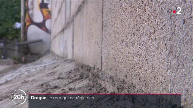 """Crack : entre Paris et Pantin, la polémique du """"mur de la honte"""""""