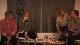 """""""La famille Ortiz"""", au théâtre Rive Gauche à Paris du 9 octobre 2019 au 5 janvier 2020. (FRANCE 3)"""