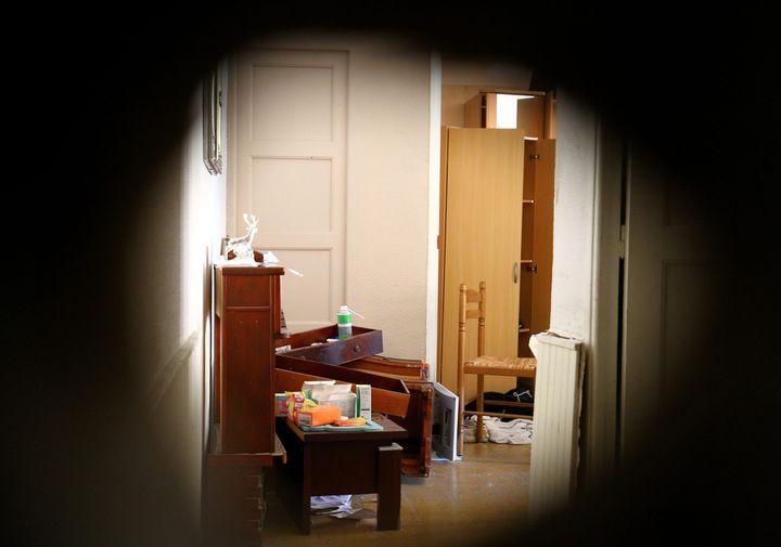 Une vue de l'appartementdeMohamed Lahouaiej-Bouhlel, l'auteur de l'attentat au camion, à Nice (Alpes-Maritimes) le 15 juillet 2016. (MAXPPP)