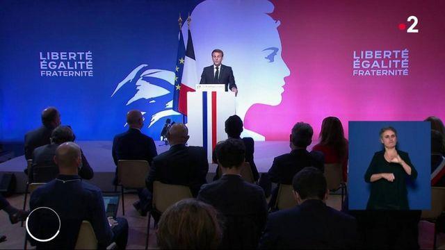 """Emmanuel Macron : ses annonces contre """"le séparatisme religieux"""""""