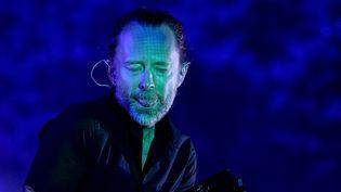 Thom Yorke de Radiohead en avril 2017 au festival Coachella.  (Kevin Winter /AFP)