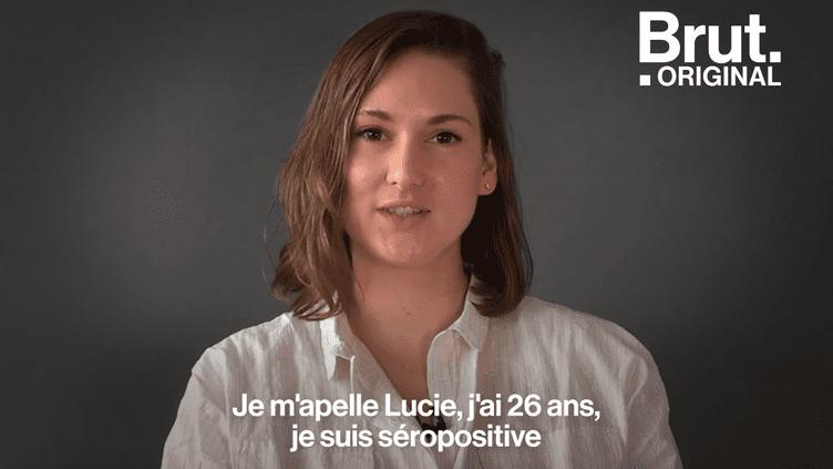 """Lucie est séropositive : """"Connaître son statut, c'est savoir si on protège l'autre et soi-même"""" (BRUT)"""