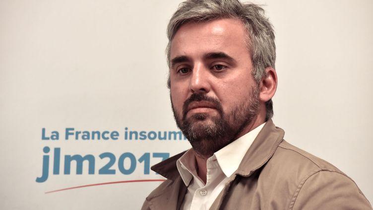 Alexis Corbière, député de la 7e circonscription de Seine-Saint-Denis, le 16 février 2017. (CITIZENSIDE/PATRICE PIERROT / CITIZENSIDE)