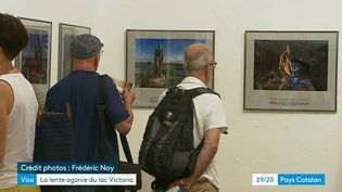 """L'exposition """"La lente agonie du lac Victoria"""", à Perpignan (Visa pour l'image) (France 3 Pays Catalan B. Bock)"""