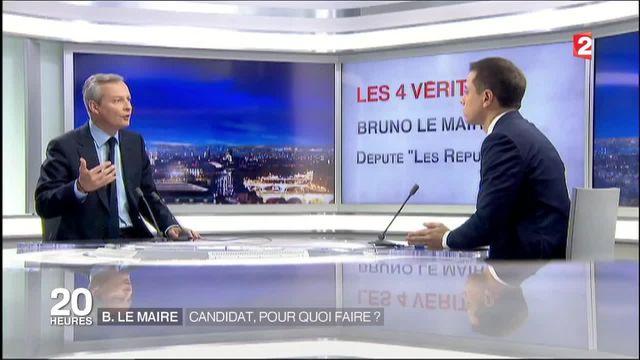 Les Républicains : Bruno Le Maire se lance dans la bataille de primaires