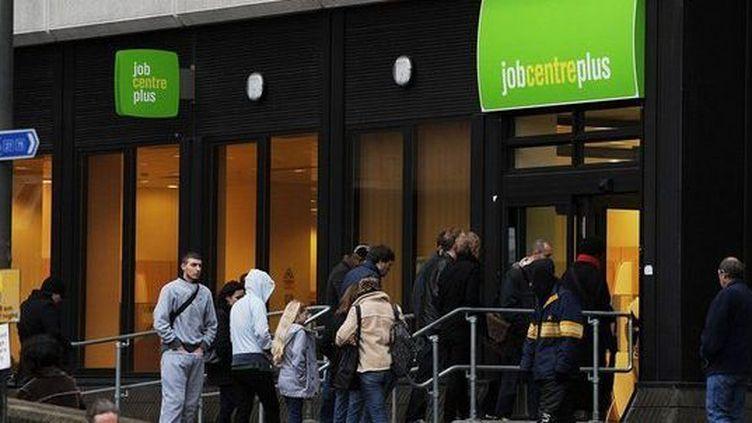 Une agence pour l'emploi dans le Kent en 2010 (AFP/Ben Stansall)