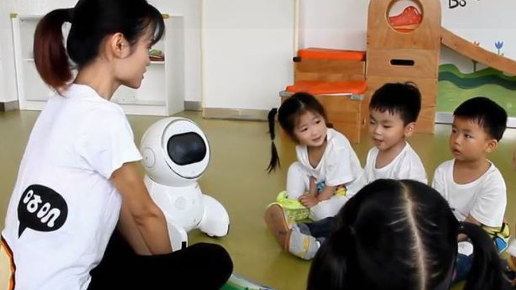 chinois robot ecole (FRANCE 2)